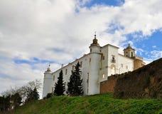 Das Schlossgebäude: eine neue Herberge stockfoto