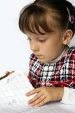 Das Schulmädchen stockfoto