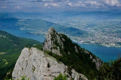 Das Schwätzchen der Einbuchtung DU in den französischen Alpen lizenzfreie stockbilder