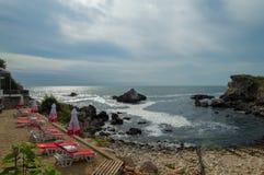 Das Schwarze Meer von Bulgarien Stockfoto