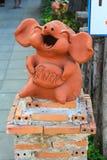 Das Schwein statuarisch Stockbilder