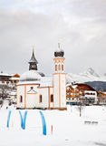 Das Seekirchl in Seefeld Lizenzfreie Stockfotos