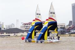 Das segelnde Rennen des Monsun-Cup-2008 Lizenzfreies Stockbild