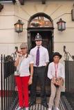 Das Sherlock Holmes Museum Stockbilder