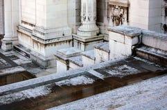 Das Sieger-Emmanuel-Denkmal ausführlich Rom Lizenzfreies Stockfoto