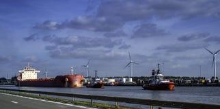 Das Sifferdok, Belgien lizenzfreies stockbild
