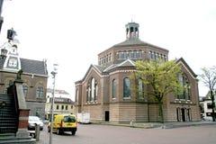 das Sint-Nicolaaskerk (früher große Kirche) ist eine katholische Kirche in Purmerend, die Niederlande Lizenzfreie Stockfotografie
