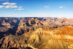 Das Skelett vom großartigen Standpunkt - Grand Canyon, Südkante, Arizona, AZ lizenzfreies stockbild