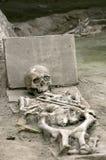Das Skelett von einem römischen stockfotografie