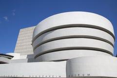 Das Solomon R Guggenheim-Museum von modernem und von zeitgenössischer Kunst in Manhattan Stockfotografie