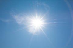 Das Sonnenglänzen Lizenzfreies Stockbild
