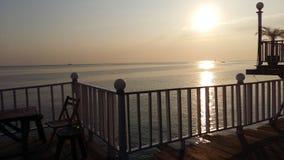 Das Sonneset Stockfotos