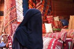 Das Souks in Marrakesch, Marokko, Der größte traditionelle Markt in Afrika stockbild