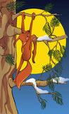 Das spielerische squirre vektor abbildung