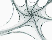 Das Spinnennetz Stockbild