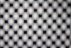 Das squre Punktgitter mit Unschärfefokus stockfoto