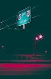 Das städtische Glühen Lizenzfreie Stockfotos