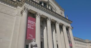 Das St. Louis Art Museum in Forest Park stock video footage
