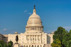 Das Staat-Kapitol-Gebäude, Washington DC Stockbilder