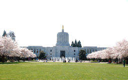 Das Staat Oregons-Kapitalgebäude. Lizenzfreies Stockfoto