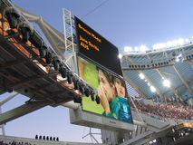 Das Stadion Lizenzfreie Stockfotografie