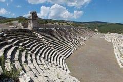 Das Stadion von Kibyra in Golhisar, Burdur Lizenzfreie Stockbilder