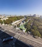 Das stadtpark in Wien lizenzfreies stockbild