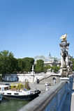 Das Stadtzentrum von Paris. Stockbild