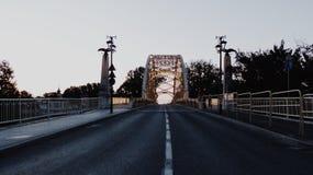 Das Stadtzentrum von Ungarns schöner Stadt Stockfotografie