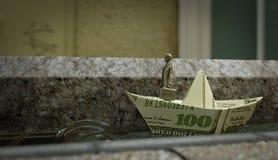 Das standhafte Tin Soldier-Geschäftskonzeptfoto Stockfoto