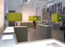 Das STASI Museum in Berlin Stockbild