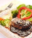 Das Steak Stockbilder