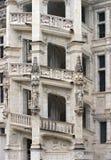Das Steintreppenhaus Stockfotos