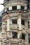 Das Steintreppenhaus Lizenzfreies Stockbild