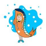 Das Sternzeichen Fische Lizenzfreie Stockbilder
