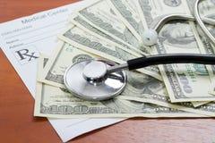 Das Stethoskop Lizenzfreie Stockfotos