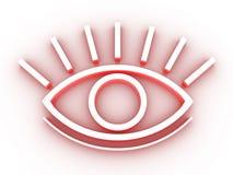 Das stilisiert Auge Lizenzfreie Stockbilder