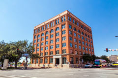Das 6. Stock-Museum in im Stadtzentrum gelegenem Dallas Stockfotografie