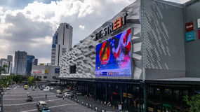 Das Straße fasion Mall Lizenzfreies Stockfoto