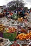Das Straßenmarkt von Bulawayo in Simbabwe, 16 September 2012 stockfotografie