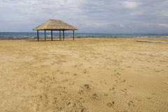 Das Strandhaus stockfoto