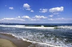 Das Strandurlaubsort von Albena auf dem Schwarzen Meer in Bulgarien Stockbild