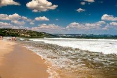 Das Strandurlaubsort von Albena auf dem Schwarzen Meer in Bulgarien Stockfotos