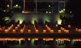 Das Stuhl-Oklahoma-Denkmal Lizenzfreie Stockfotos
