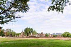 Das Sukhothai-Welterbe, der alte Tempel Stockfoto