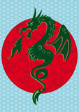 Das Symbol des Drachen des neuen Jahres Lizenzfreies Stockfoto