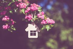 Das Symbol des Hauses Stockfotos