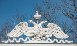 Das Symbol des russischen Reiches Stockfotografie