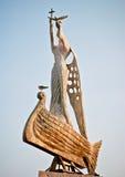 Statue des Heiligen Nicholas in Nesebar Lizenzfreies Stockfoto