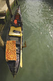 Das Symbol von Venedig Stockbild